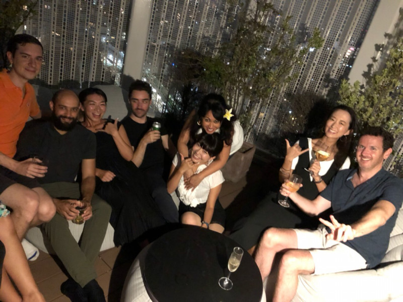 Tata'ura'a wrap up party for the staff