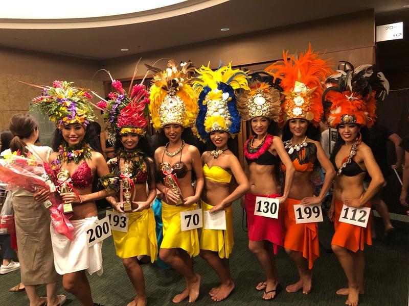 Tata'ura'a Ori Tahiti Japan 2019 結果